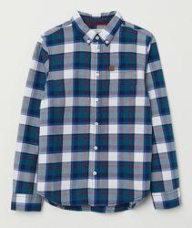 Рубашка H&M 0663851002 92 СМ  Синий 60020