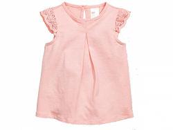 Блузка H&M 0467015002 74 СМ  Розовый 59007
