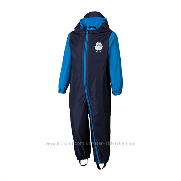 Теплый комбинезон для мальчика Impidimpi 4088500129199 62 СМ Темно-синий 59921