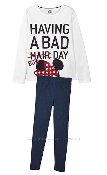 Пижама Disney 293463 134 СМ  Белый 61081