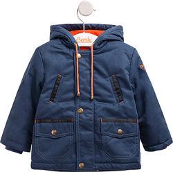 Куртка на мальчика, с капюшоном, на флисе, от 10C до-5C. Есть в 2 цветах
