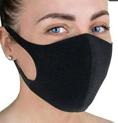 Угольная маска Питта многоразовая для защиты от вирусов инфекций