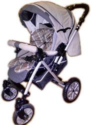 Продам детскую всесезонную прогулочную коляску Capella S-803 Beige Check