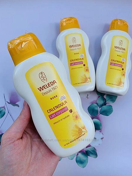 Детское молочко для тела с календулой Weleda веледа