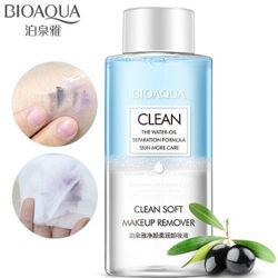 Двухфазное средство для снятия макияжа Bioaqua Clean Soft Makeup