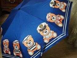 Зонты Moschino Toy брендовый, стильные, яркие
