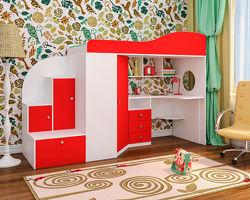 Детская Кровать-чердак МЧ133 Под заказ 14 дней
