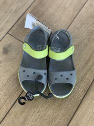 Детские кроксы Crocs Bayaband Sandal новые сток оригинал