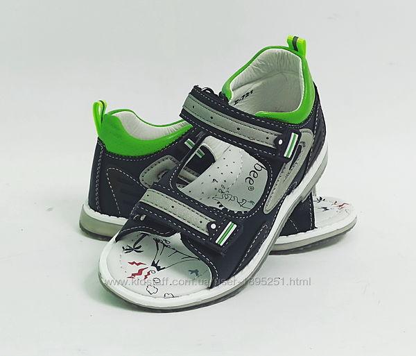 Clibee 721 black-green Босоножки сандали босоніжки обувь Клиби черный
