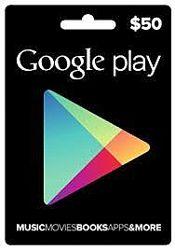 Подарочная карта Google Play Gift Card на сумму 50 USD, US-регион