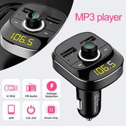 FM модулятор трансмиттер CAR X10 с Bluetooth, MP3, USB, microSD