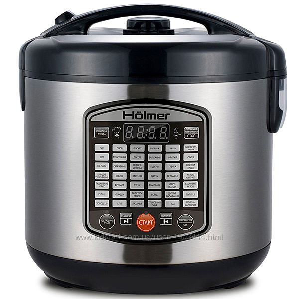 Мультиварка Holmer HMC-42B, 42 программы, 5л, 860 Вт. Гарантия 1 год