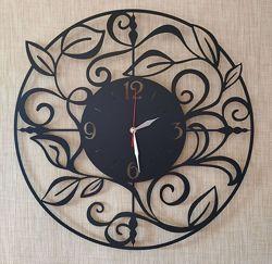 Дизайнерские настенные часы из металла Флоренция