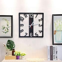 Интерьерные настенные часы из металла в стиле loft