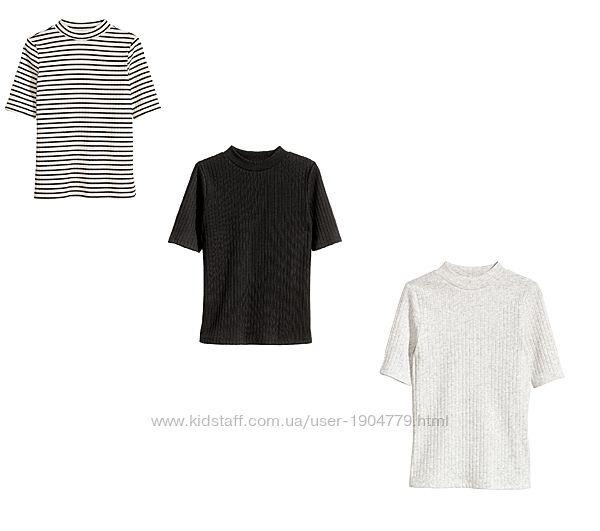 Кофта H&M, 134/140 см. Новые. 3 цвета