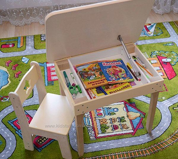 Детский столик и стульчик, стол, дитячий стільчик