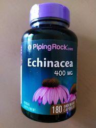 Эхинацея для лечения простуды 400 мг, 180 капсул США.