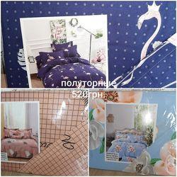 1,5 2-хспальные и евро комплекты постельного белья, фланель
