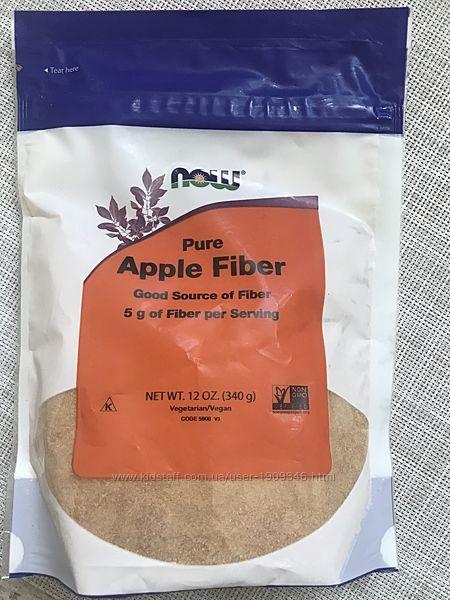 Now Foods , клетчатка , чистая яблочная клетчатка, 340 гр , клетчатка now