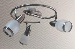 Люстра на 3 лампочки Направляюча - Нова