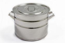 Бак кастрюля 10 литров из нержавеющей стали