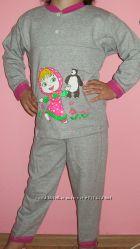 Костюмы, пижамы, комплекты деткам по низким ценам из нат. тканей