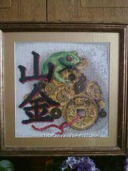 картина денежная жаба