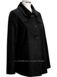 Пальто шерстяное для беременных. ОлдНави.