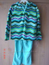 Флисовые костюмчики для девочек 3-5 лет