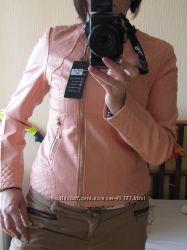 Красивая куртка нежно розового цвета , распродажа