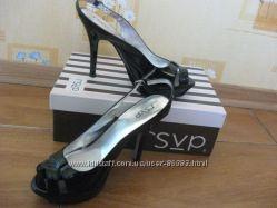 Элегантные лаковые туфли из Америки, rsvp ,  кожа, 40й р-р. распродажа