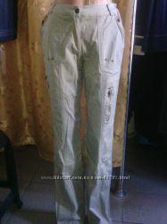 Женские стрейчевые спортивные брюки полубаталы