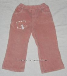 фирменные штаны, вельветовые PEPELINO, 2-3 года, в отличном состоянии