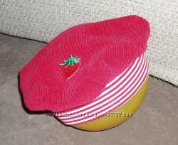 Фирменные шапочки, береты для девочки в отличном состоянии, 3-5 лет