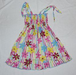 Яркий сарафан-платье, новый с биркой  р. 110, на 4-6 лет