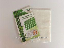 Бамбуковая салфетка для мытья без моющих средств 18х23 оригинал.