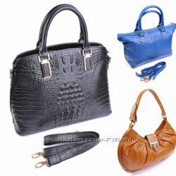 Кожаные сумочки - минимальная цена