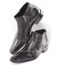 Кожаная мужская обувь Италия