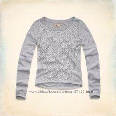 свитера с стразами и паеткамиAbercrombie&Fitch и hollister Америка оригинал