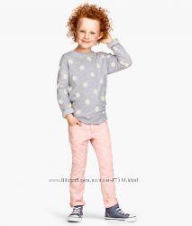 Стрейчевые брюки, H&M