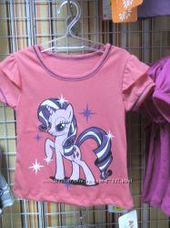 футболочки на девочек в наличии в ассортименте