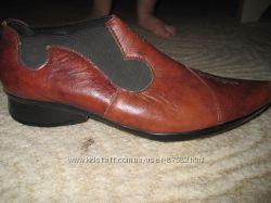 стильные ботиночки-натур. кожа