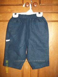 Фирменные штаники bebeJou, р. 62, Швейцария, 52 лен 48 хлопок