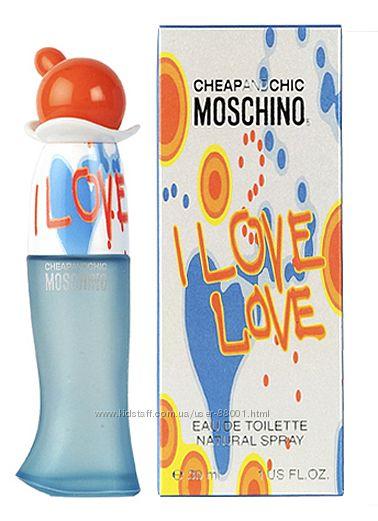 Срочно продам парфюм Moschino Cheap & Chic I Love Love