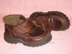 Ботинки деми, Португалия, NEXT. Натур. кожа, р. 6, по ст. 15 см.