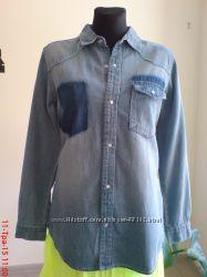 рубашки  джинс mila  р. L